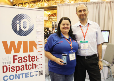 iO and the The Fastest Dispatcher Contest at APCO 2014