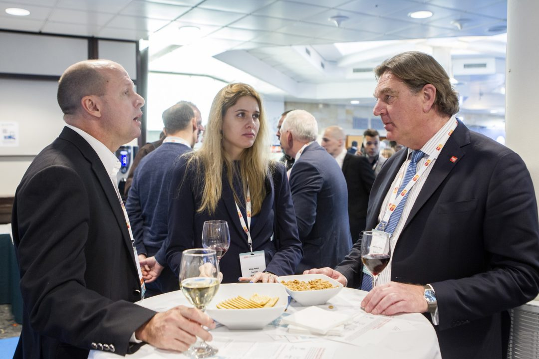 Networking at EENA 2017