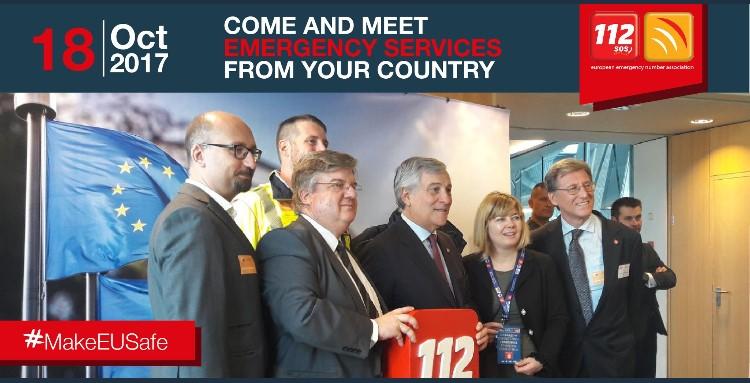 Beta 80 attends EENA European Parliament MEP event for Public Safety