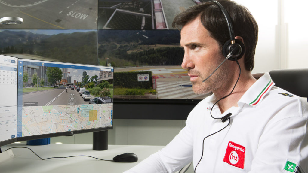 emergency software suite in new Bolzano 112 PSAP