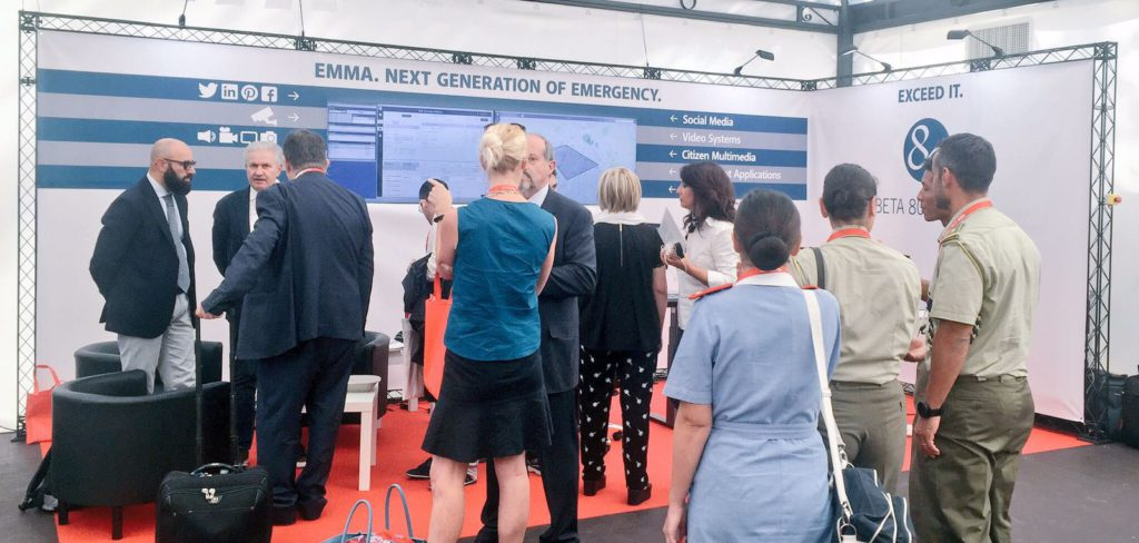 Beta 80 exhibits its CAD and integration at SIS 118 Emergency Medical Services Fair