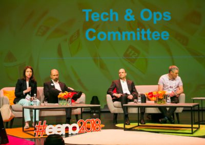 Tech and Ops committee panelists